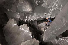 Pictures of Giant Crystal Cave, Naica, Mexico: Mine
