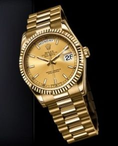 Rolex Day-Date In Yellow Gold
