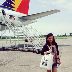 At Kalibo Airport via #Philippineairlines =)