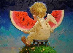 Красиво и волшебно - художник Виктор Низовцев / Культурное наследие / Бэйбики. Куклы фото. Одежда для кукол
