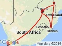11-tägige Erlebnisreise durch Südafrika, Unterbringung in 3 bis 4-Sterne-Hotels, Johannesburg – Pretoria – Krüger Nationalpark – Mpumalanga – Kapstadt - 22815