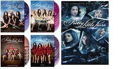 Pretty Little Liars Seasons 1-5 DVD Set