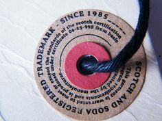 swing tags part two by Neville Trickett, via Flickr