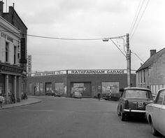 Rathfarnham Main Street 1968 Dublin Street, Dublin City, Old Pictures, Old Photos, World History, Main Street, Ireland, Irish, Black And White