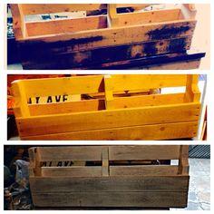distressing a palet shelf ~ Palet Shelf, Hope Chest, Storage Chest, Shelves, Diy, Furniture, Home Decor, Shelving, Homemade Home Decor