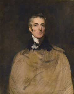 Thomas Lawrence ~ Portret van veldmaarschalk Arthur Wellesley, 1e Hertog van Wellington ~ ca. 1819 ~ Olieverf op doek ~ 96,5 x 76,2 cm. ~ Particuliere verzameling