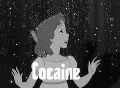 We Heart It yoluyla görsel https://weheartit.com/entry/148936263 [sharing.image.animated] #blackandwhite #cocaine #disney #gif #grunge #magical #peterpan #wendy #grün
