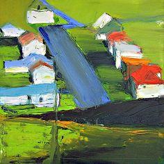 Green Suburbia -  Richard Diebenkorn