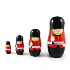 Heartwarmers Russian Matryoshka Nesting Dolls Guardsman   eBay