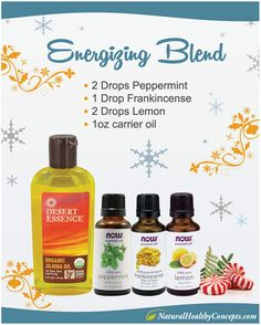 Energizing-Blend - in 5 Essential Oil Blends to Try This Holiday Season!