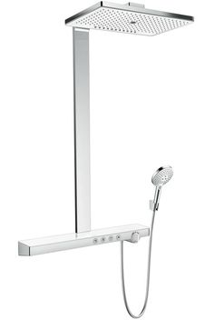 REUTER Shop recommends: Hansgrohe Rainmaker Select 460 Showerpipe 27109400 ✓ with Best Price Guarantee. Phoenix Design, Wc Sitz, G 1, Shower Systems, Diy Tools, Shower Heads, Kitchen Sink, Bathroom Accessories, Toilet Paper