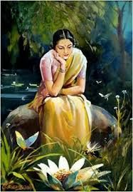 traditional indian oil paintings