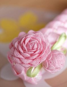 Ric Rac Rose ~ so sweet and easy