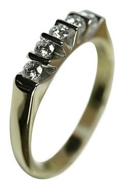 Italian Finest Ladies #Rings 18 Ct Yellow Gold 0.75 Ct Diamonds