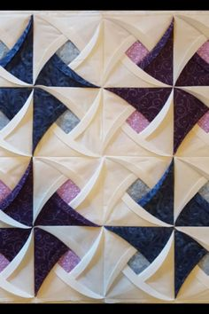 A unique and easy to learn pattern that results in a stunning decorative table topper, wall hanging, or quilt.