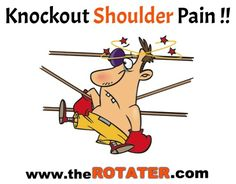 You can't knockout shoulder pain . until you know why you're in pain. Shoulder