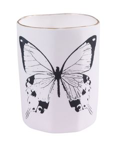 Delicate and light like the butteryflies they are embelished with, these tealight holders will add a subtle touch to any room they are placed in.