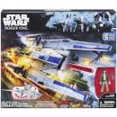 Hasbro Star Wars: Rogue One Rebel U-Wing Fighter Rocket into battle against the Empire with this Rebel U-Wing Fighter, a well-armed swing-wing vessel that must penetrate heavy fire zones to deposit soldiers onto battlefields and then fly air support http://www.MightGet.com/january-2017-11/hasbro-star-wars-rogue-one-rebel-u-wing-fighter.asp