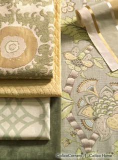 Idea: Color Pallette / Fioretto Fabric Collection, View 1