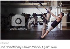 "SLIDESHOW: The Scientifically Proven #Workout -Cycle 2 ....Check out Cycle 2 of Equinox's 3Cycle #conditioning series - UCLA researched & verified for increasing lean #musclemass. ""Now more weight or volume of training is being used and the complexity of some movements has increased."" ..... #strengthtraining #muscles #health #buildmuscle #Qblog #SelfTracking #fitness @enquos"