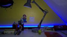 Bricolage geek perso : Prise électrique USB au dessus du bureau