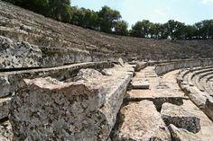 Diazoma & gradins theatre Epidavros #outdoorsgr