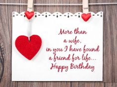 Happy Birthday Wishes To Wife ~ Best birthday wishes for wife u2013 birthday wishes lines sayings