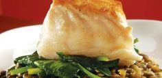 Halibut is probably my favorite fish.  This is so good and pretty easy to make.  Try it while halibut is in season.  Very impressive & tasty.