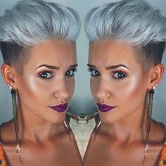 WEBSTA @ madeleineschoen - How to be successful? Focus on your own shit✌️ #me #hair #selfie #selfietime #undercut #hairstyle #beauty #beautiful #pixie #pixiecut #stuttgart #blogger #0711 #instablogger #style #haircolor #grannyhair #shorthair #kurzehaare #photooftheday #haircut #blonde #girl #love