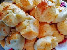 Bögrés krumplis pogácsa (kelesztés nélkül) Potato Salad, Cauliflower, Ale, Shrimp, Potatoes, Meat, Vegetables, Ethnic Recipes, Food