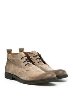H.E.BY MANGO - Accessories - Shoes - SUEDE DESERT BOOTS