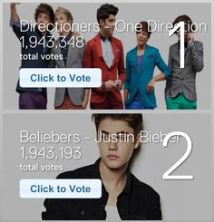 VOTE VOTE VOTE! http://peopleschoice.co/pca/vote/votenow.php# JB IS IN THE LEAD! HURRY!