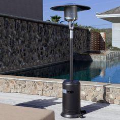 Costco UK - SunTastic Mocha Powder Coated Commercial Series Patio Heater