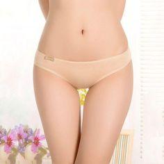 Solid Modal Fiber Sexy Women's Panties