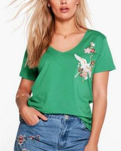 22 Best Hollow cut out v neck t shirt for teenage girls images  ddcacb110