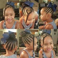 Cute Little Girl Braids! Cute Little Girl Braids! Childrens Hairstyles, Girls Natural Hairstyles, Baby Girl Hairstyles, Kids Braided Hairstyles, Princess Hairstyles, Black Girls Hairstyles, African Hairstyles, Unique Hairstyles, Short Hairstyles