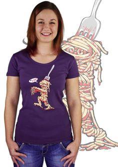Spaghetti violetten Damen T-Shirt    http://www.bastard-shop.de/damen-t-shirts/spaghetti-violetten-damen-t-shirt-517/