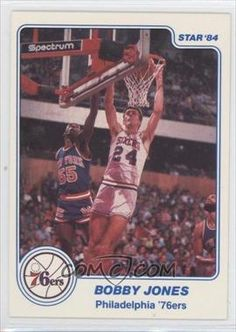 1983-84 Star #6 - Bobby Jones SP - COMC