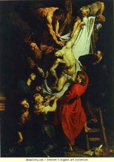 The Descent from the Cross, Peter Paul Rubens (1577-1640)
