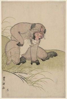 Monkey/ Toyokuni