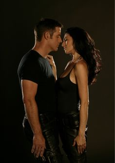 This show is amazing!  If you like sci-fi, then give Farscape a try.  These two are just, guhhh!