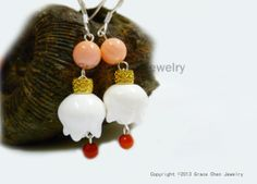 Exquisite Elegant  Statement Chinese Earrings by GraceChenCouture, $51.00