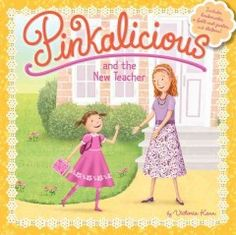 JJ FAVORITE CHARACTERS PINKALICIOUS. Complemented by a foldout poster, bookmarks and stickers, a back-to-school story featuring the intrepid Pinkalicious finds her meeting a new teacher, missing her former teacher and looking for ways to make her classroom feel more familiar.