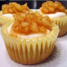 Apple Cheesecake Cupcakes Recipe