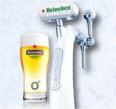 Heineken Icecold verkrijgbaar bij Villa Westend Beer Packaging, Beverages, Villa, Cold, Heineken, Fork, Villas