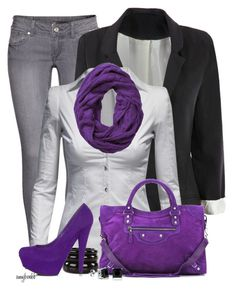 Style Any Four Of These 2 by amybwebb on Polyvore featuring polyvore fashion style Jane Norman H&M JustFabulous Balenciaga See by Chloé Subtle Luxury
