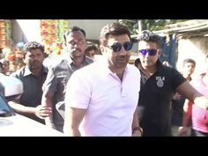 Sunny Deol at Gaity Galaxy to see audience reaction towards Ghayal Once Again movie.