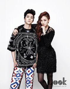 Sandara Park 산다라박 aka Dara and her brother Cheondung from MBLAQ #2NE1 #korean