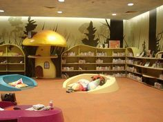 Children's area of Church Library