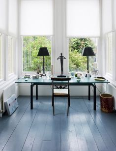 grey painted wood floors - Google Search